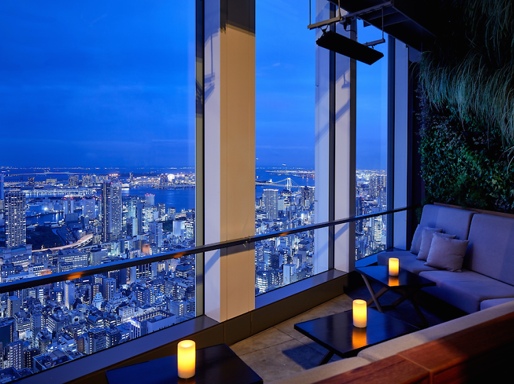 Best rooftop bars and restaurants in Tokyo