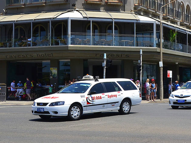 Sydney taxi in Bondi