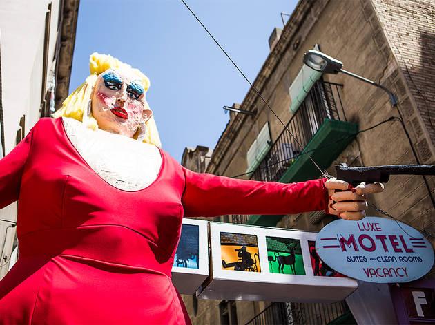 Festa Major de Gràcia 2017. Carrer Perla.