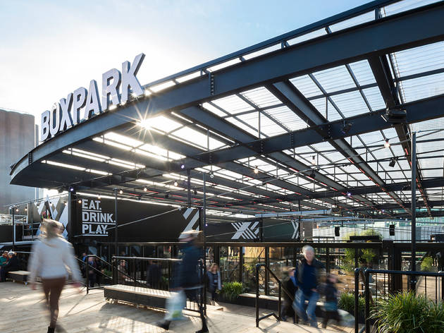 Boxpark Croydon Restaurants In Croydon London