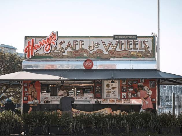 Exterior at Harry's Cafe de Wheels