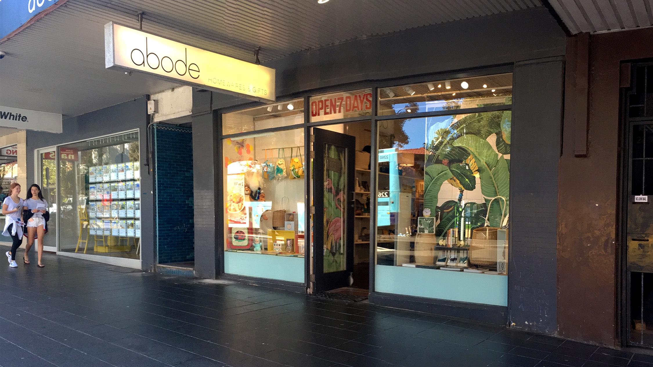Exterior at Abode Homewares and Gifts Bondi