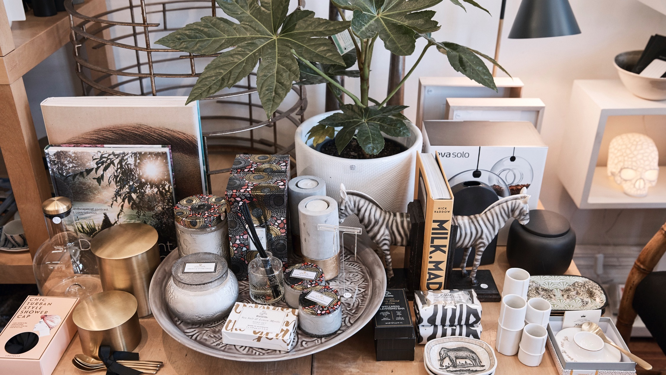 Products at Urban Oaisis