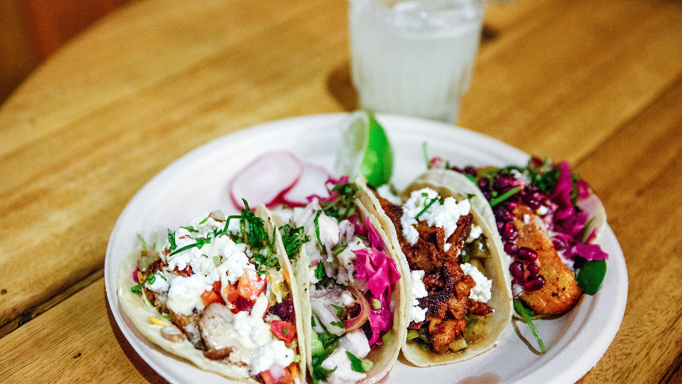 Tacos at Coyotito