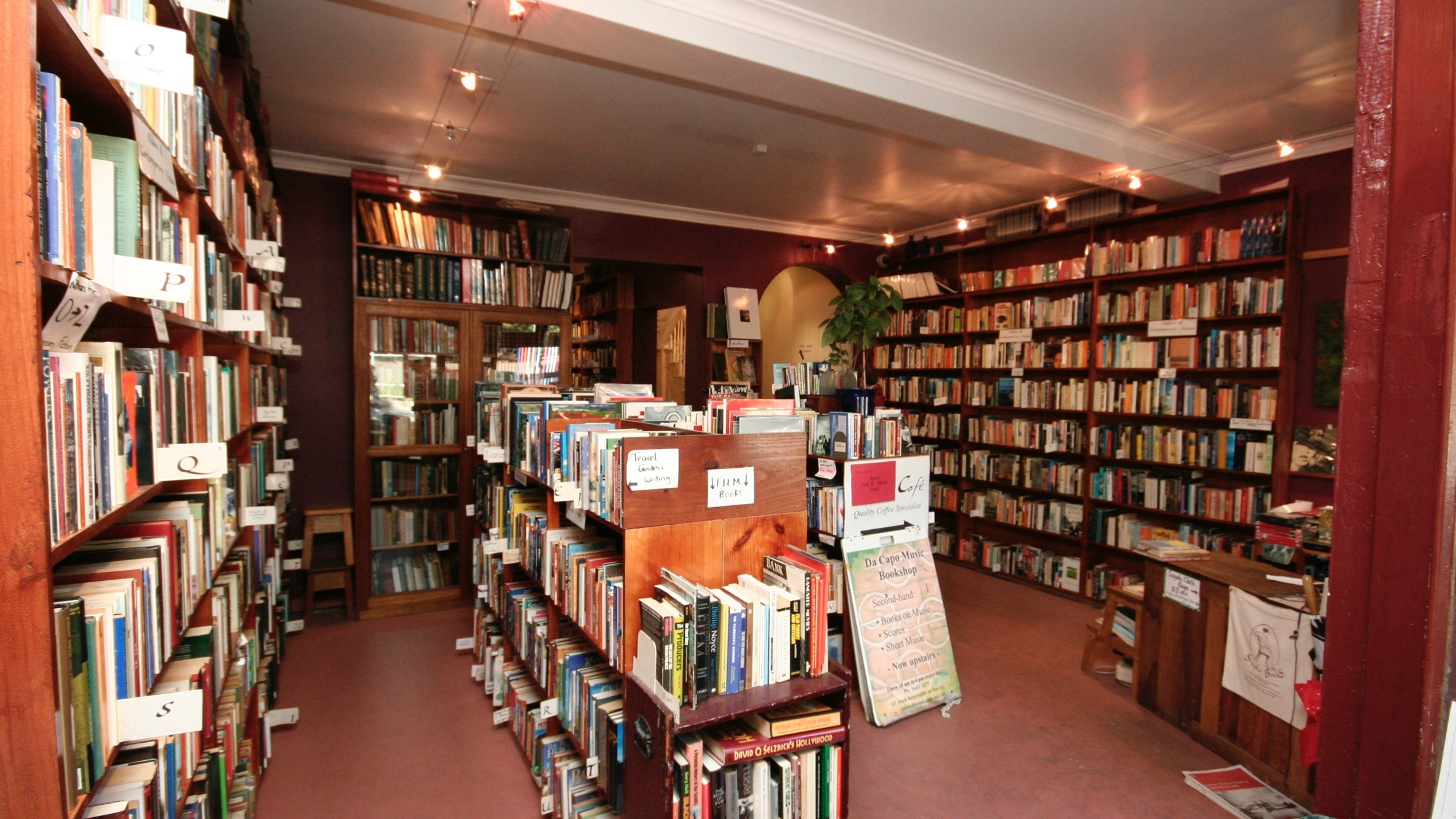 Interior at Sappho Books