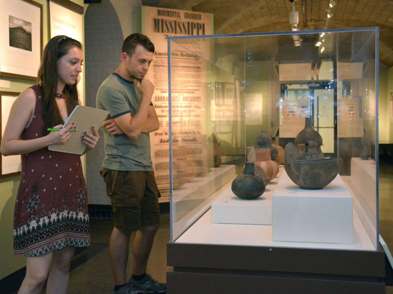 Contemplate the curious art of moundbuilders