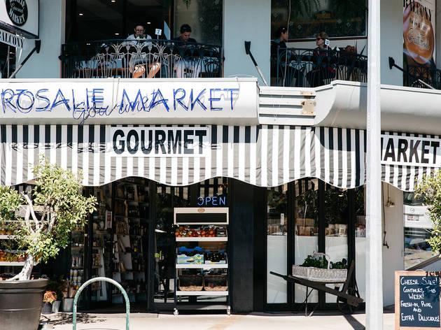Exterior at Rosalie Gourmet Market