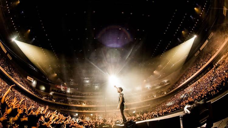 Banda One OK Rock en concierto
