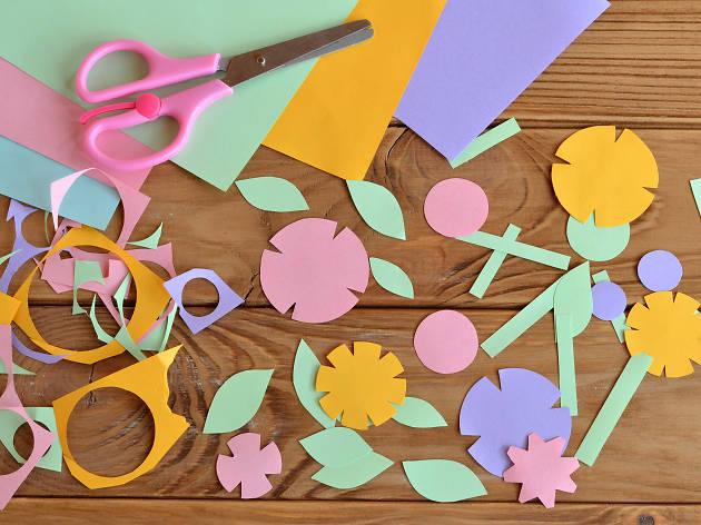 Arts & crafts, kids, scarpbooking