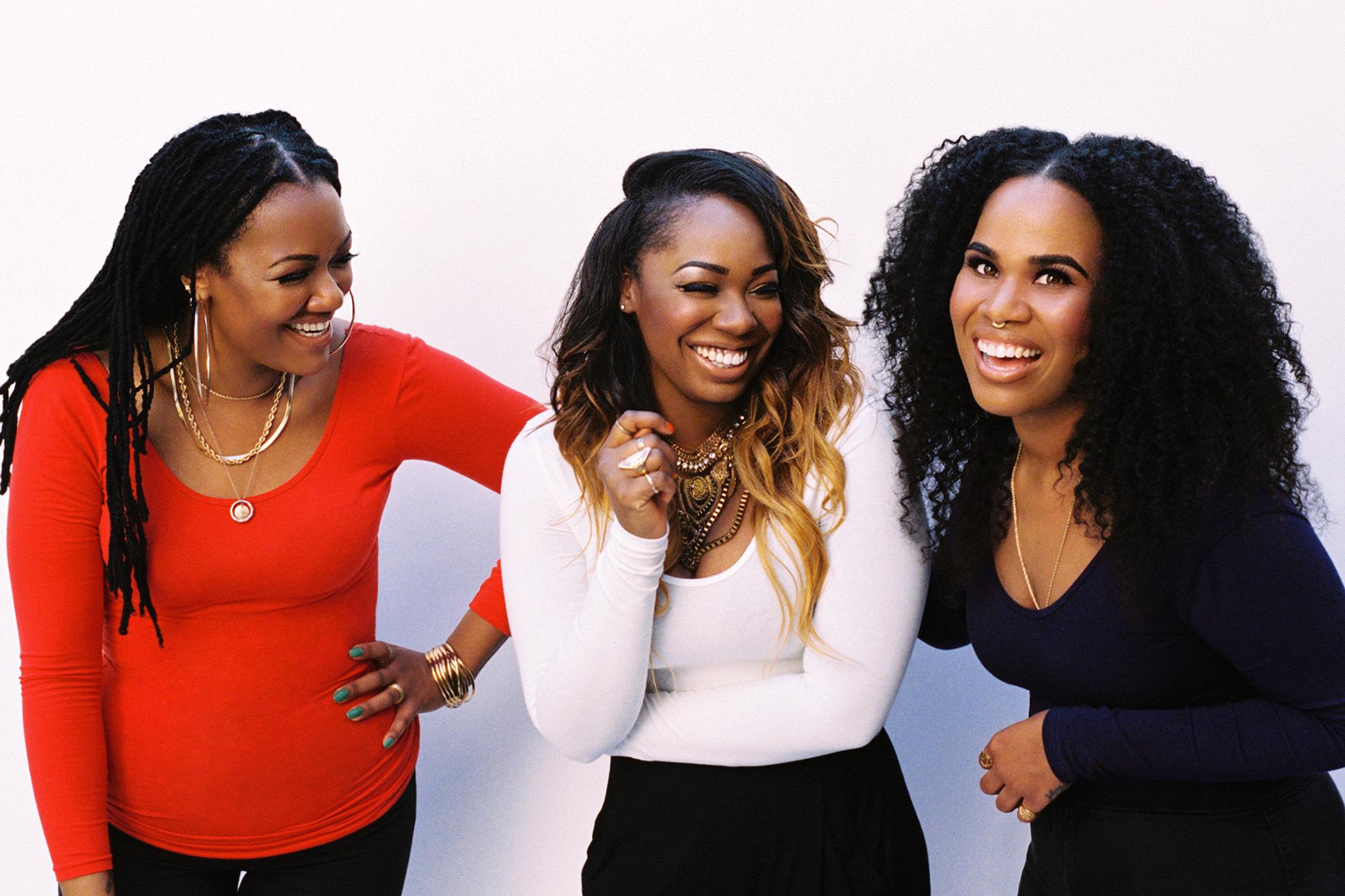 Rising R&B stars King bring their funk-laden music to Afropunk