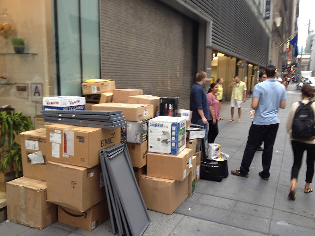 Moving in New York is an especially hellish experience