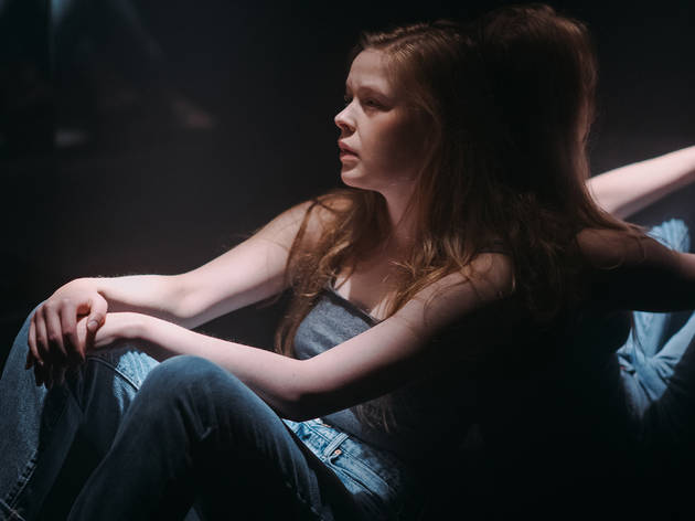 4:48 Psychosis 2017 Old Fitz Theatre production still 01 feat Lucy Heffernan photographer credit Andre Vasquez
