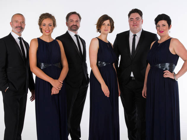 The Song Company Ensemble 2015 courtesy TSC 2017 photographer credit Simon Gorge