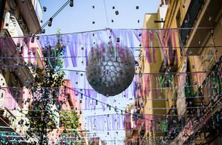 Festa Major de Sants 2017. Carrer Canalejas.