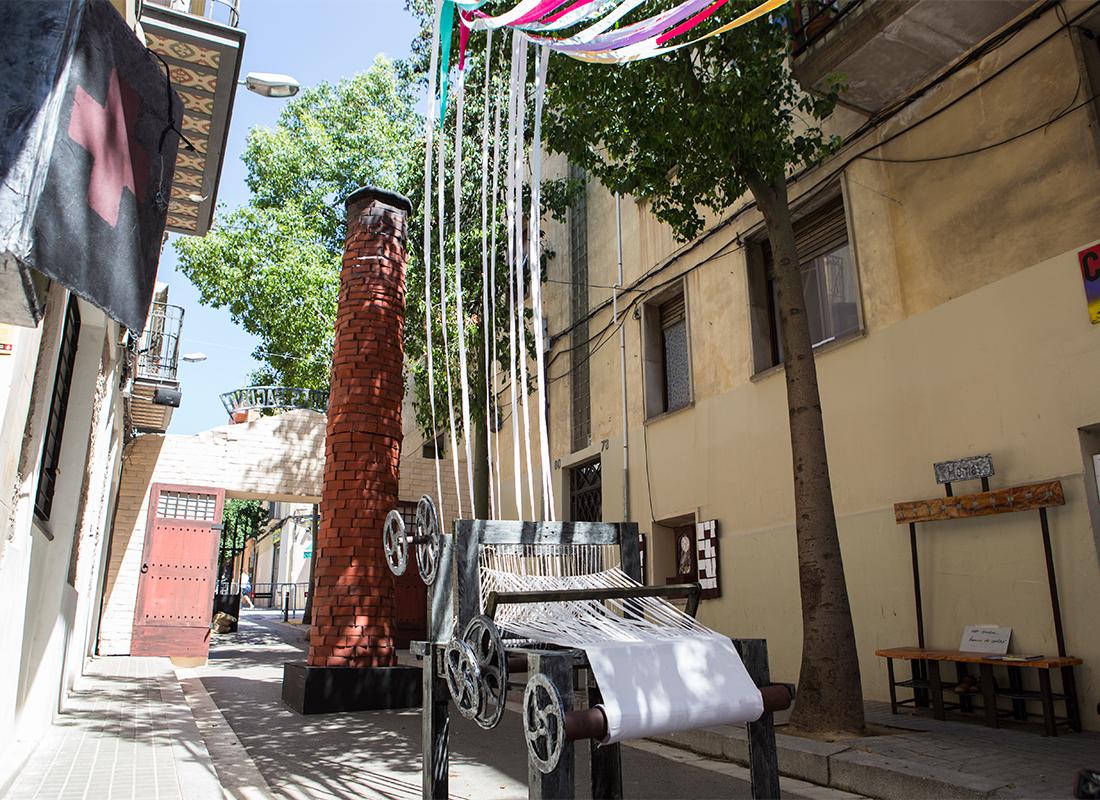 Festa Major de Sants 2017. Carrer Sagunt.