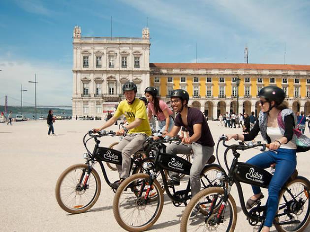 Lisbon bike tours- Lisbon hills electric bike tour