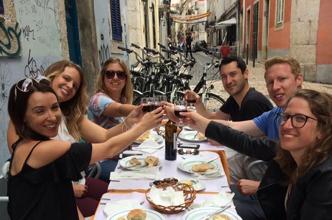 Lisbon bike tours: Lisbon flavours tour