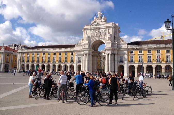 Lisbon bike tours: Central Lisbon tour