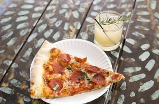 Pizza Tropical at Gramps Bar