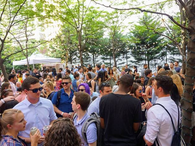 Uptown Beer Garden returns to Center City