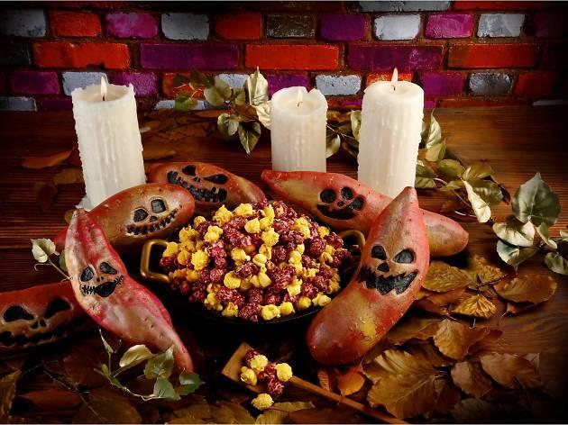 Halloween缶&スイートポテト
