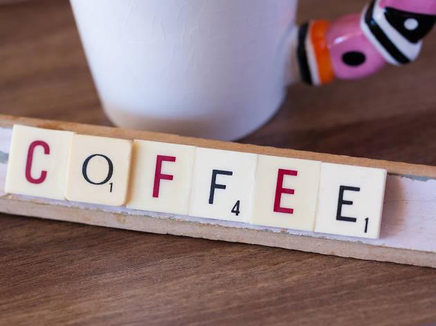 Coffee scrabble