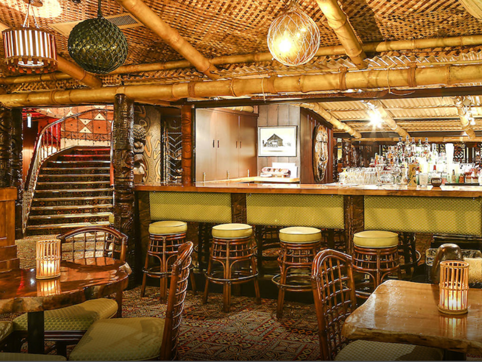 london's best rum bars, trader vic's