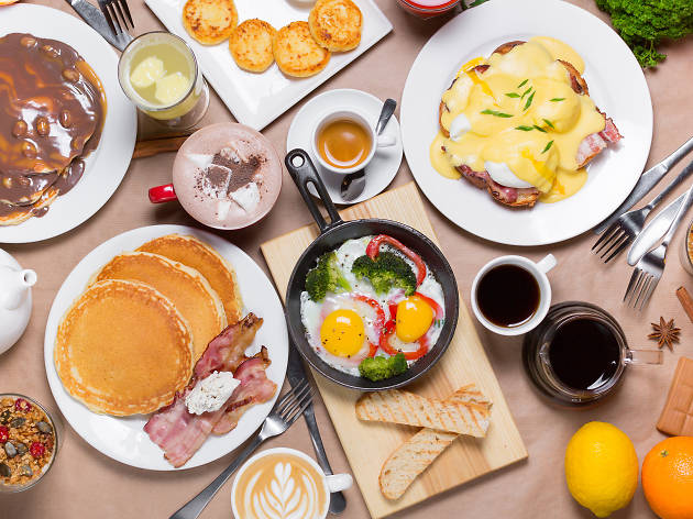 Israeli breakfast