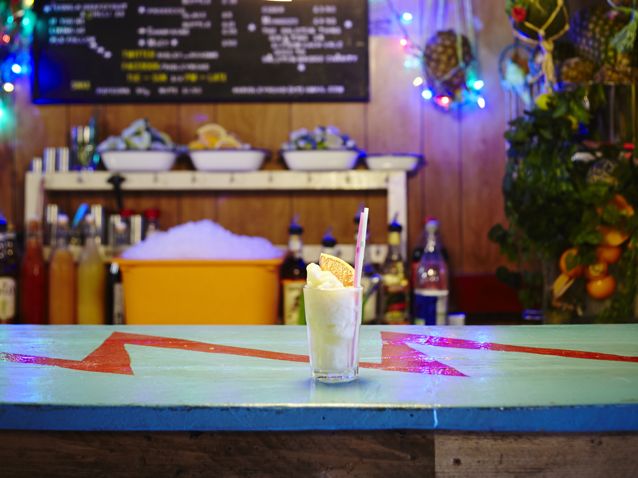 london's most tropical bars, ridley road market bar