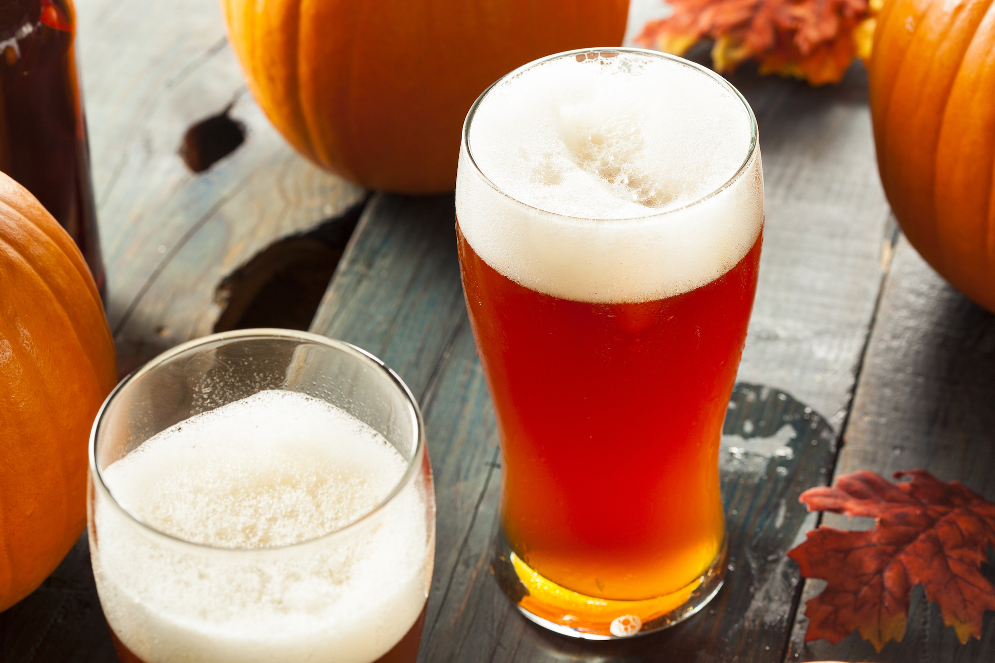 Charlie Brown Pumpkin Beer Festival