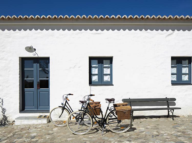 Alojamentos bike-friendly. Para quem descansar é como andar de bicicleta