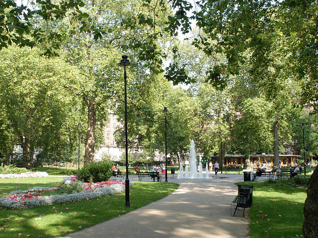 Russell Square, Bloomsbury