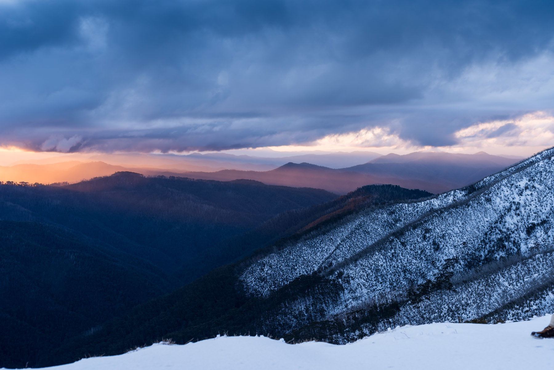 Mount Hotham mountain ranges