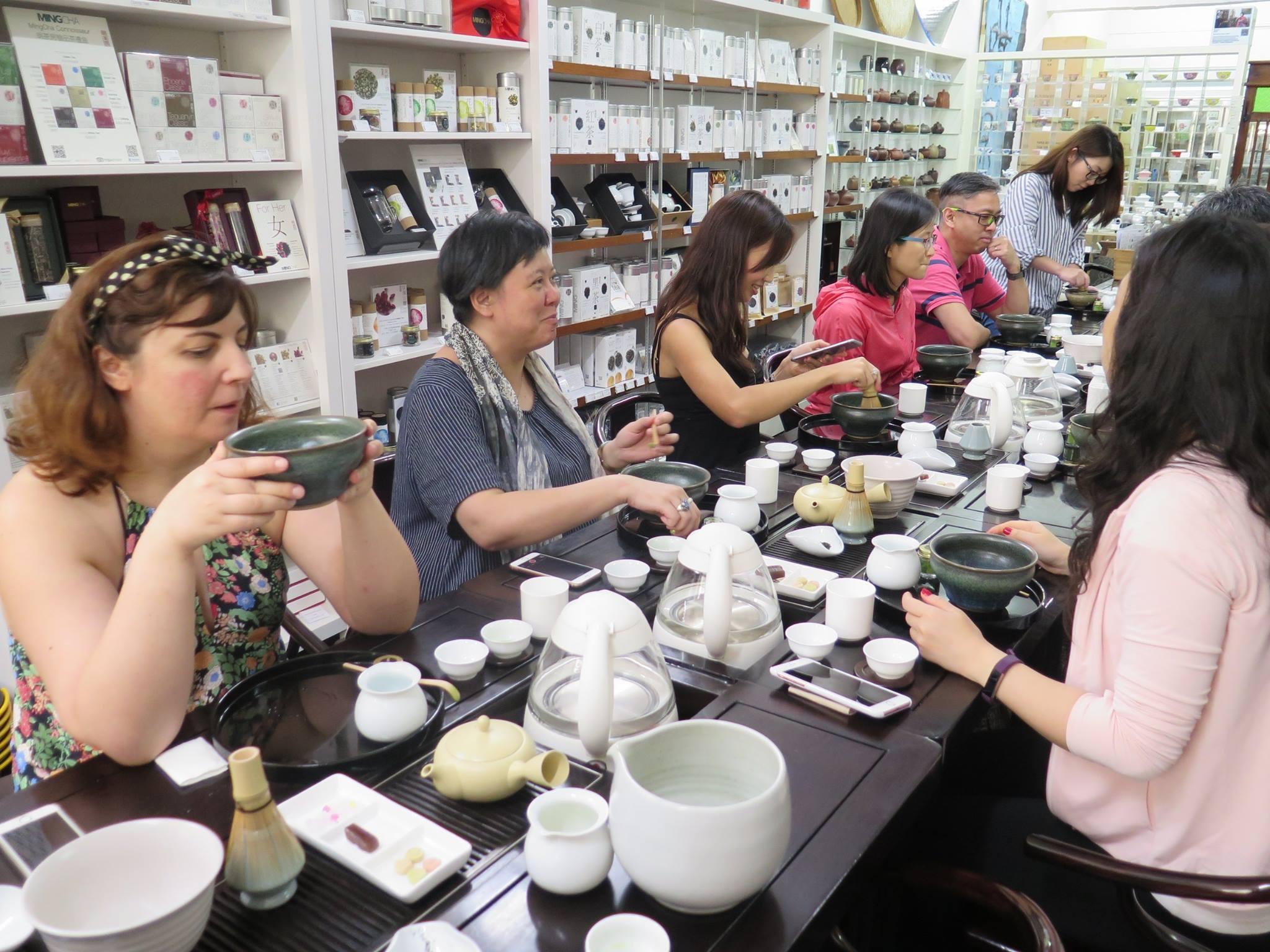 MingCha Tea House tea tasting