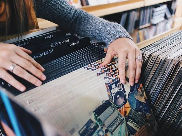 Browsing vinyl