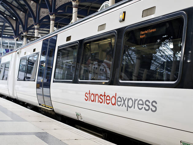 Promo shot for Stansted Express commercial feature, August 2017