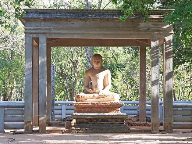 The Samadhi Buddha statue