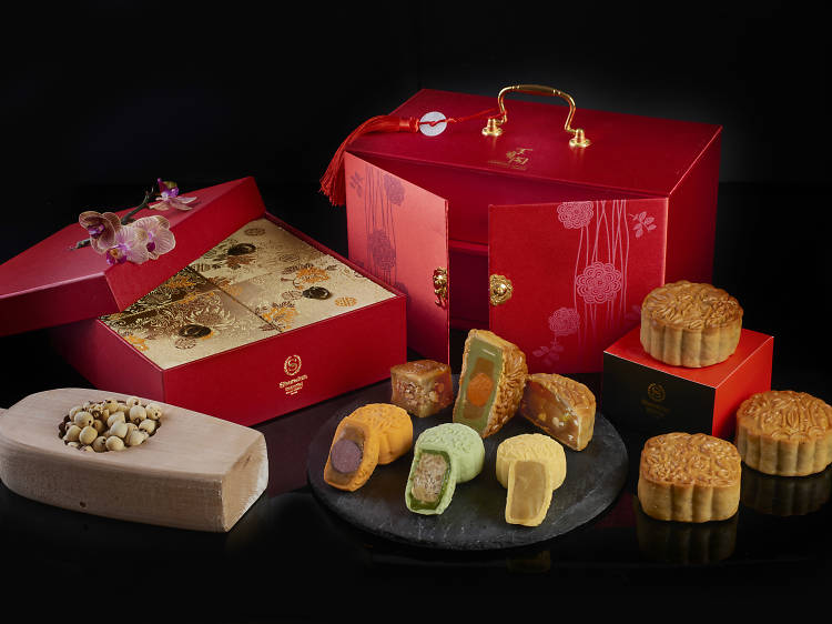 Mooncake flavours and gift boxes 2017