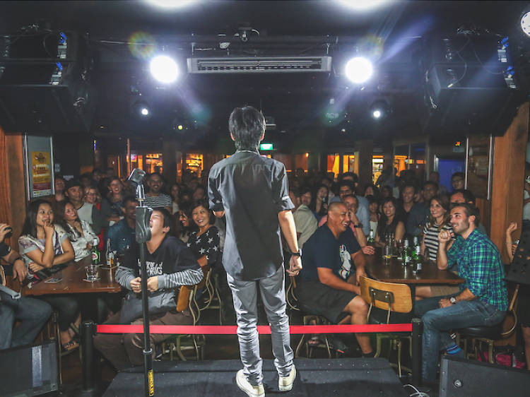 The best comedy clubs in Singapore