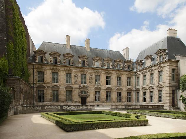 Hôtel de Béthune-Sully, façade sur jardin ou façade nord