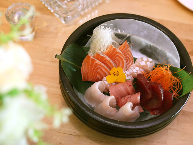Sashimi Platter at RK San