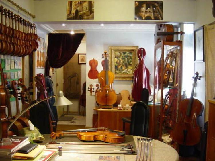 Andre Jutras Rare Violins