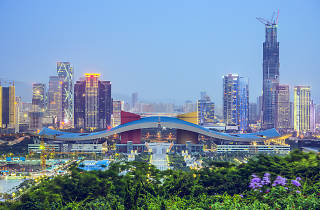 Shenzhen city centre