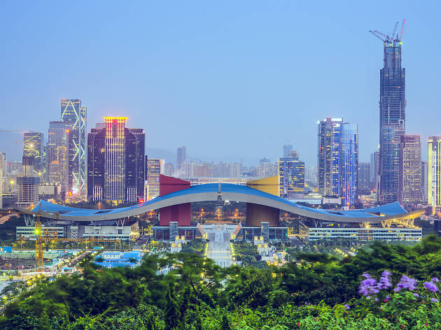 Shenzhen city centre