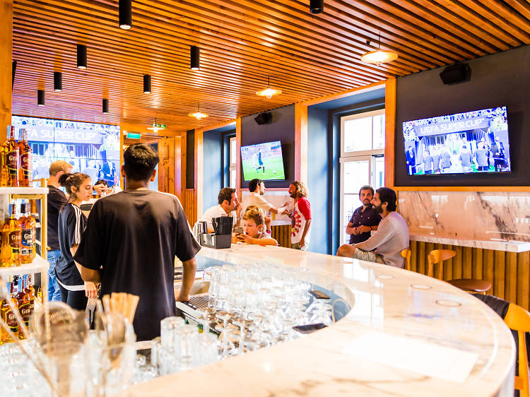 Os melhores sports bars de Lisboa