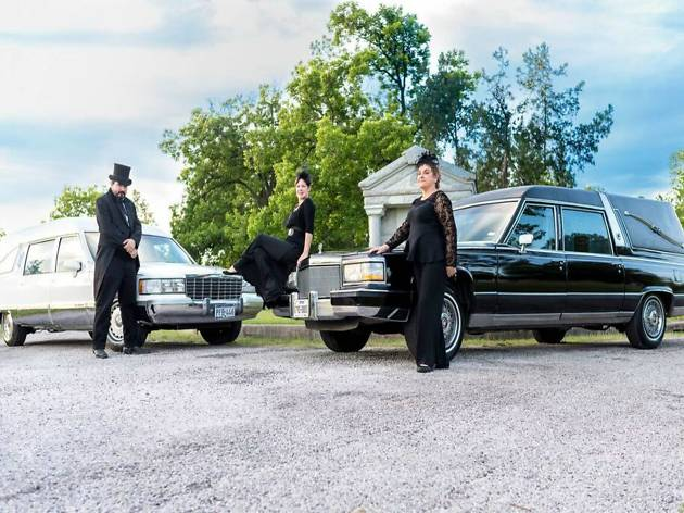 Haunted ATX Hearse Tours