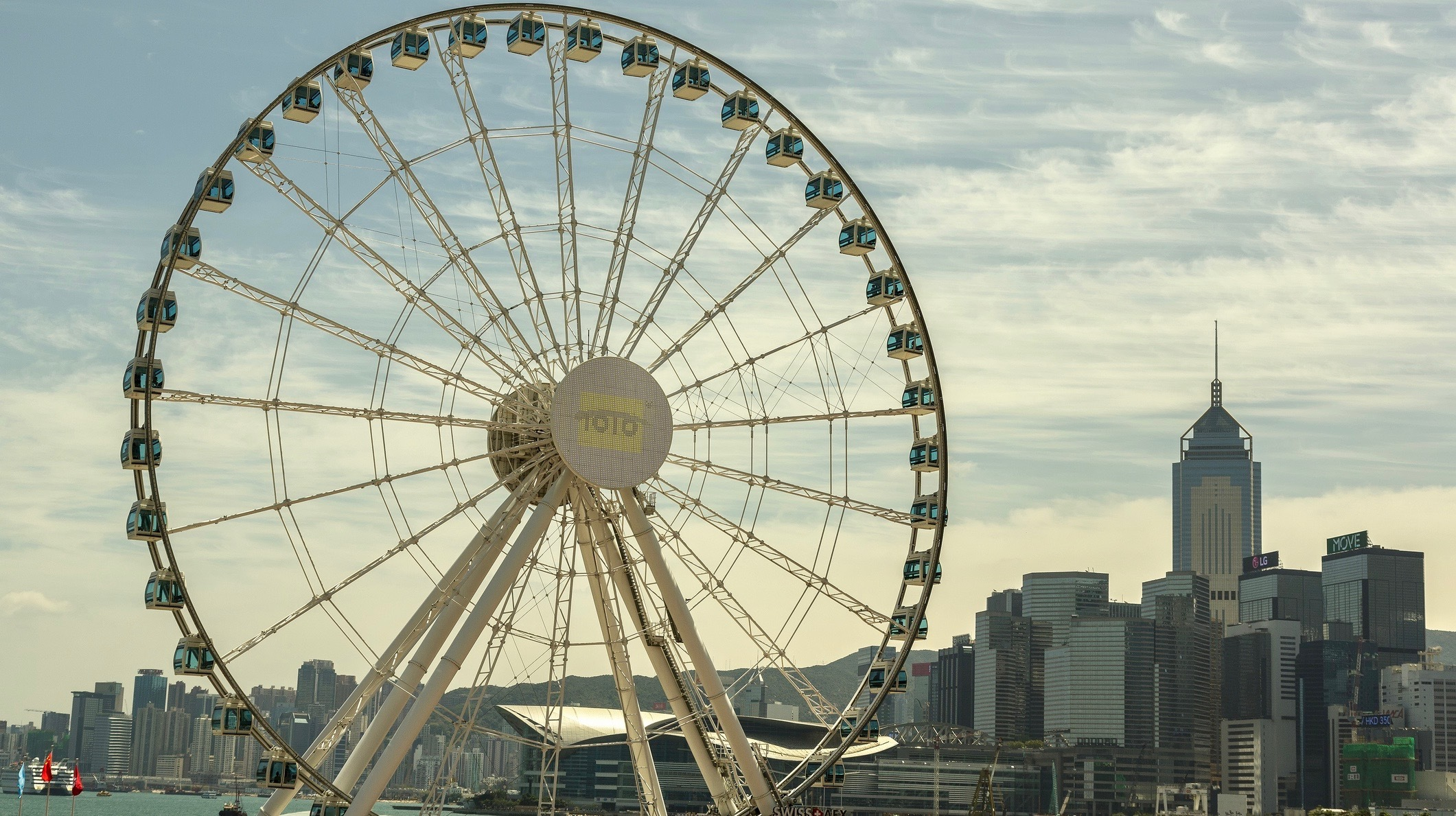 Try guided meditation on the Observation Wheel for free this weekend