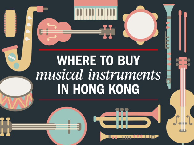 Where to buy musical instruments in Hong Kong