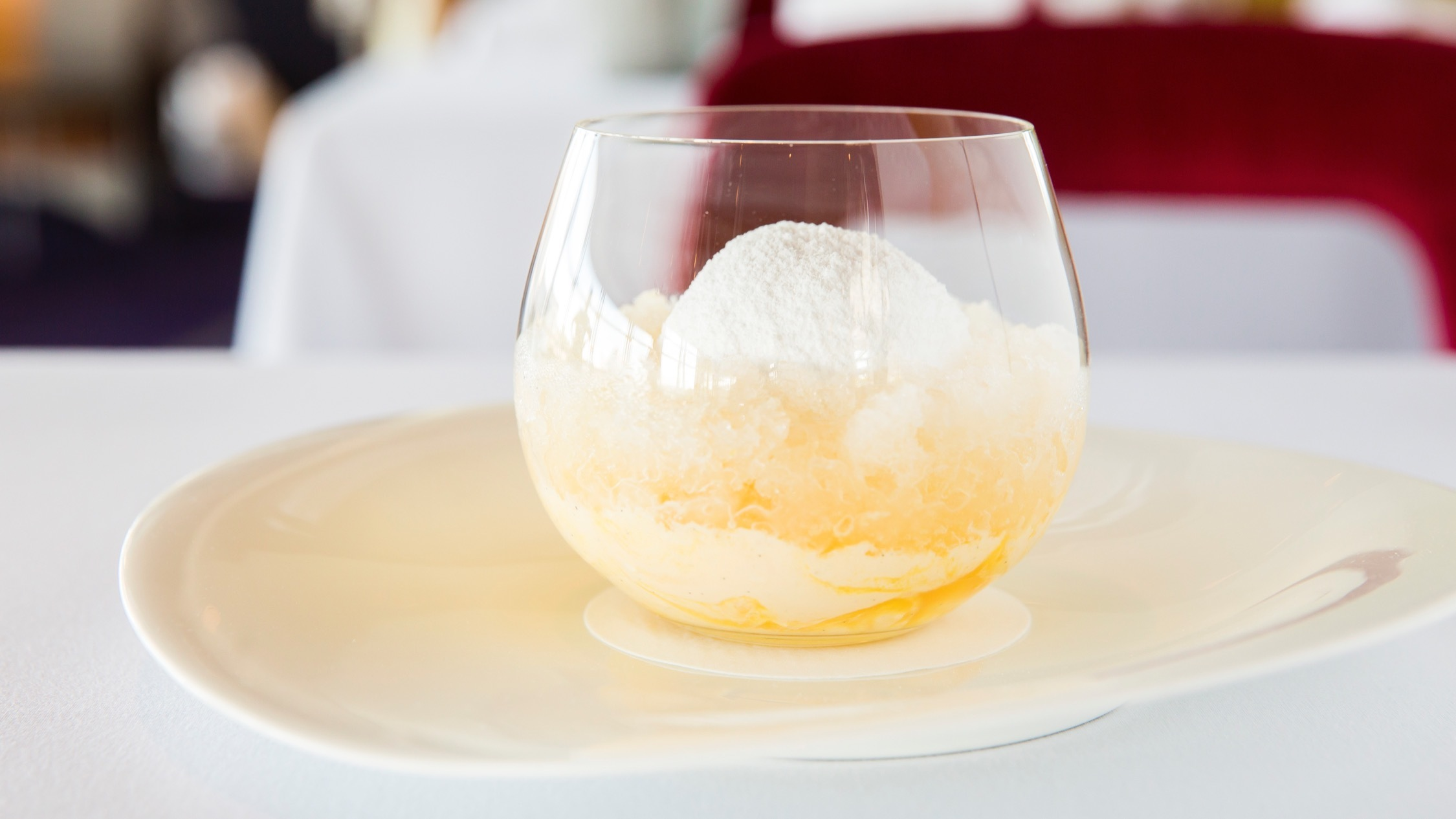 Quay's famous snow egg dessert will be taken off the menu this April