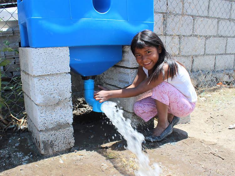 Isla Urbana: Un proyecto mexicano que aprovecha el agua de lluvia